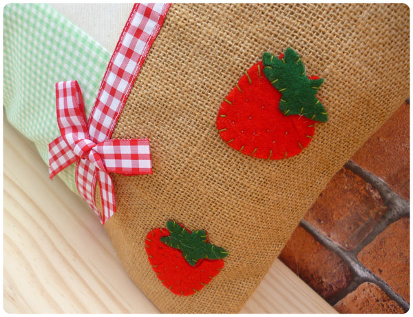 Strawberry Sweet Cushion