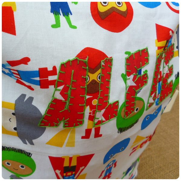 Super Boy Drawstring Bag