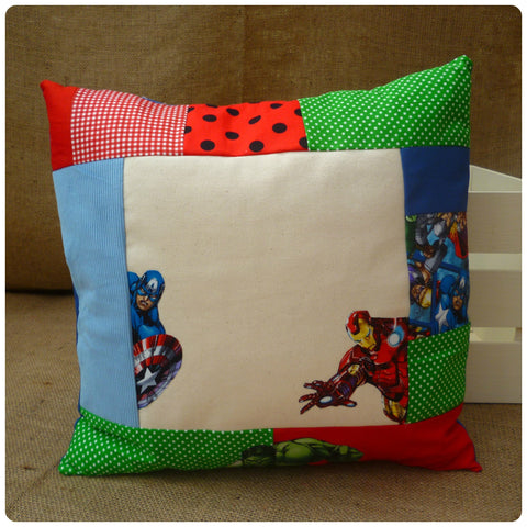 Super Hero Cut Out Cushion (Can be personalised)