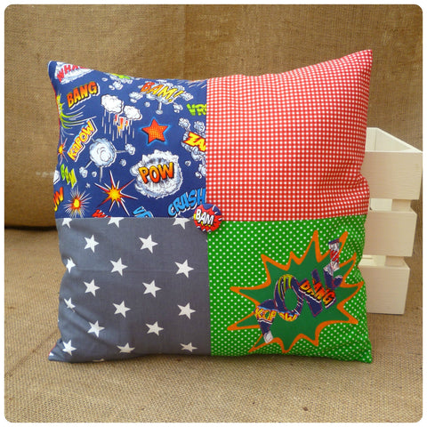 Superhero Pow Cushion