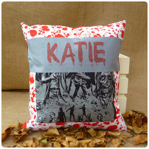Walking Dead Inspired Zombie Cushion