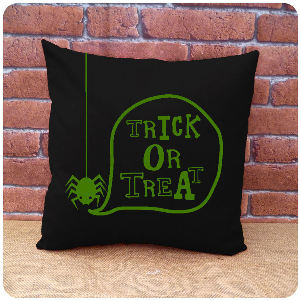 Spider Trick or Treat Cushion