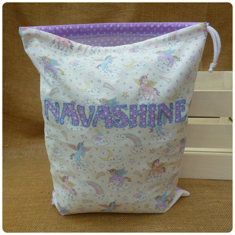 Unicorns Drawstring Bag