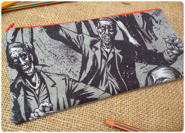 Walking Dead Inspired Zombie Pencil Case