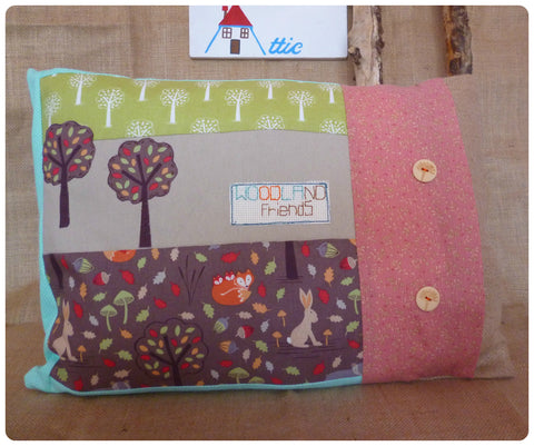 Woodland Friends Cushion