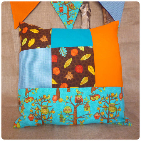 Woodland Owl Cushion