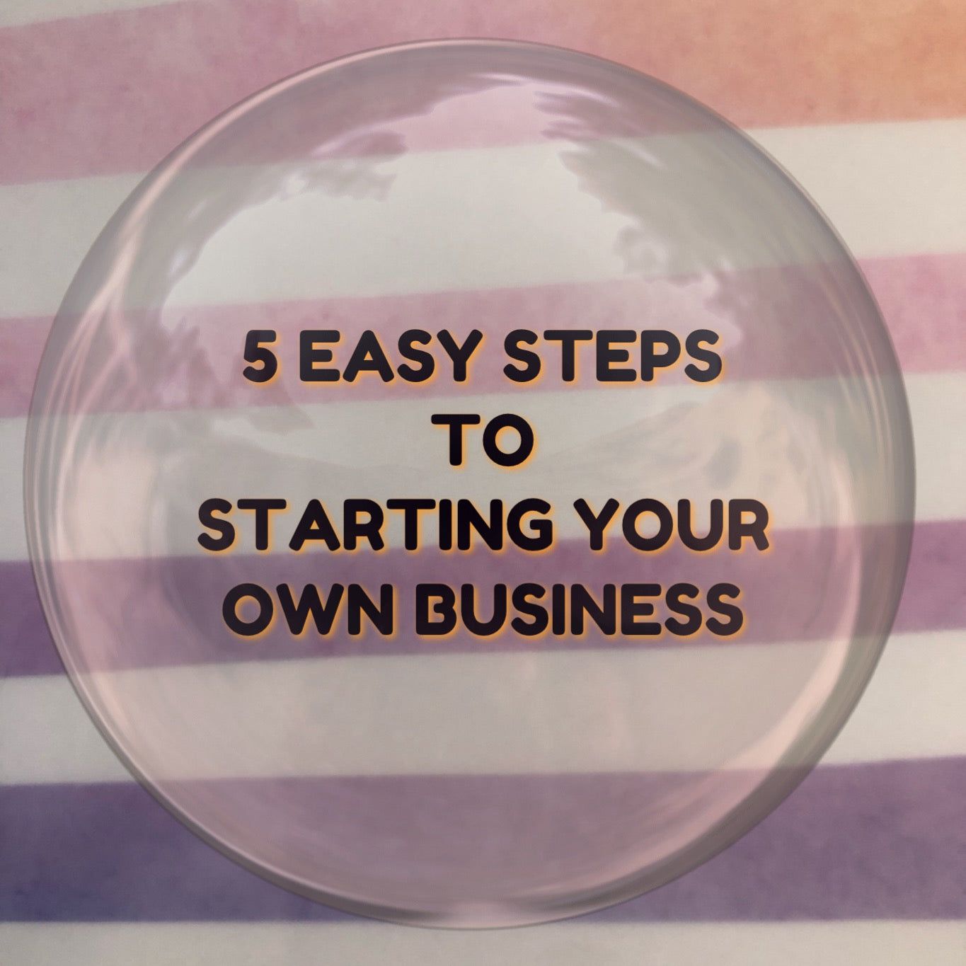 5 Easy Steps to Starting  a Business