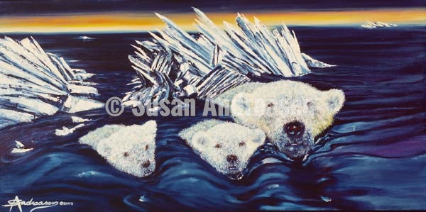 Artic Faces - 48 x 24