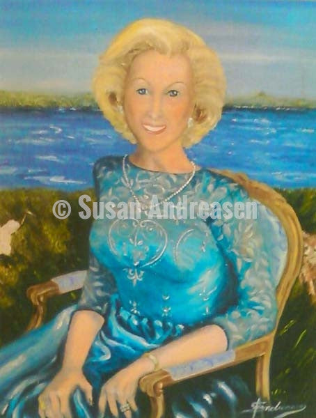 Mrs. Richard Patricia Johnson - 32 x 36