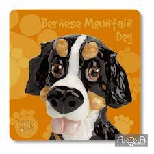 Little Paws 'Bernese Mountain Dog' Coaster by Arora Design