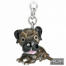border terrier key charm