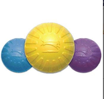 Starmark - Fantastic Dog Toy - Foam Ball - 2 sizes - fun colours - soft on dogs mouth