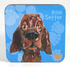 Copy of Little Paws Irish Setter - Coaster by Arora Design