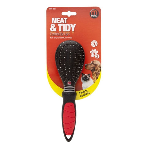 Mikki Neat and Tidy Combi Brush