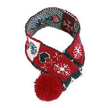 Animate knitted scarf