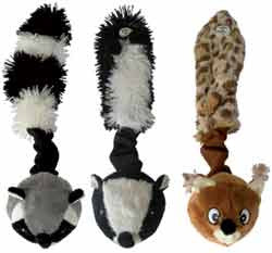 Doggie-Stuff  Skinneeez Critter Dog Toy