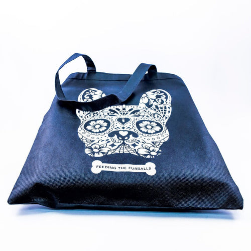 Dog lovers tote bag - dog face