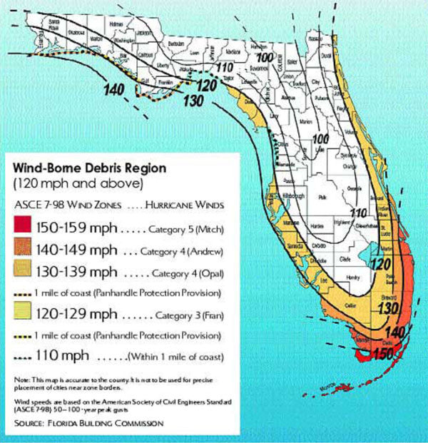 WIND ZONE 4 DECISION BY FLORIDA BUILDING COMMISSION 2-05-13