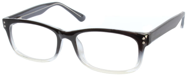 MV Optical Single Vision Reader Model 102 - Available in Black Crystal, Brown Crystal or Grey Crystal