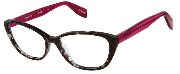 Scojo Gels Blulite Adrian in Black Toyko front w/Black Rose Temples (+0.00 strength only) - ReadingGlassWorld