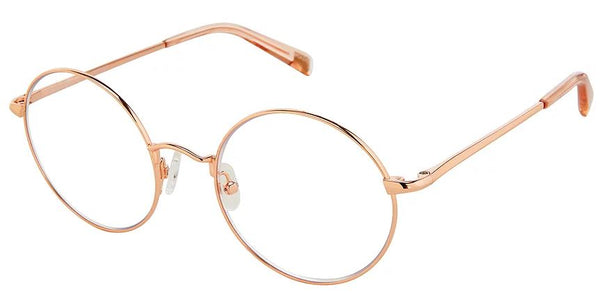 Scojo Blulite Round Biko in Rose Gold - ReadingGlassWorld
