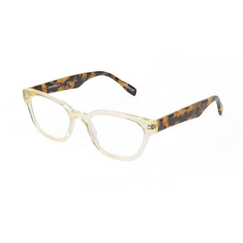 Scojo Chambers Street in Antique Crystal/Butterscotch Tortoise or Navy Pinstripe/Blue