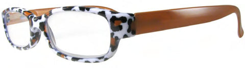 Evolution Eyes 8317 in Brown Leopard - ReadingGlassWorld