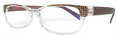 Evolution Eyes 8333 in Crystal Topaz - ReadingGlassWorld
