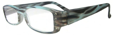 Evolution Eyes 8512 in Blue Striate, Black Zebra or Brown Animal - ReadingGlassWorld