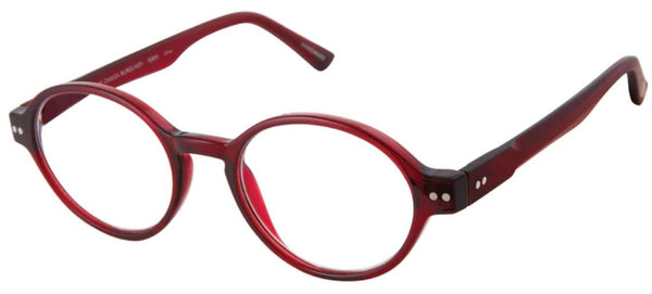 Scojo Omega in Burgundy or Crystal/Grey Demi - ReadingGlassWorld