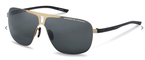 Porsche Design Model P8655 Modified Half Rim Aviator Sunglass - ReadingGlassWorld