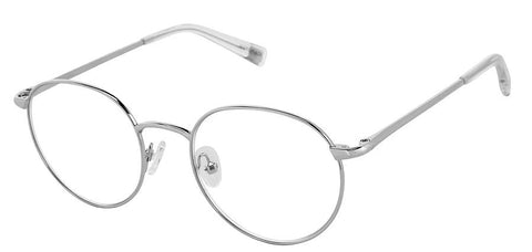 Scojo Blulite Round Radcliffe in Silver - ReadingGlassWorld