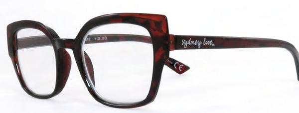 Sydney Love 919 in Tortoise or Dark Pink/Blue Stripe - ReadingGlassWorld