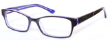 MV Optical Single Vision Model 76 in Tortoise/Purple or Sapphire Black