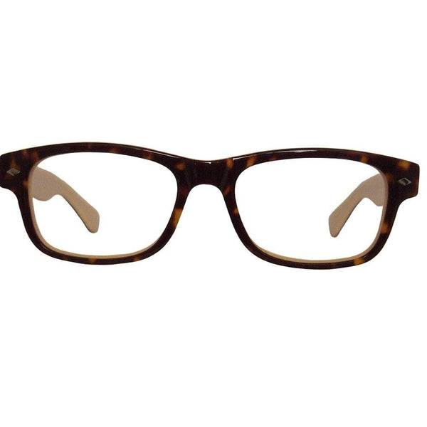 MV Optical Single Vision Reader Model 60 in Black, Tortoise, Burgundy/Pink or Brown/Blue