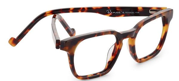 Renee's Readers Abbe in Vintage Tortoise or Classic Black - ReadingGlassWorld
