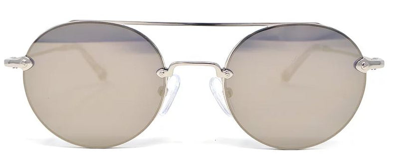 Scojo New York ACE in silver w/flash lenses - ReadingGlassWorld