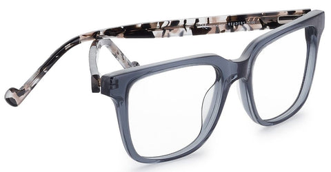 9a981e7c2e0 Renee s Readers Larry (large) in Transparent Peach Tort or Grey Tort -  ReadingGlassWorld