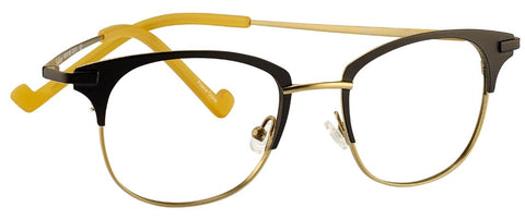 Renee's Readers Lightweight Siobhan in Spruce/Taupe or Black/Light Gold - ReadingGlassWorld