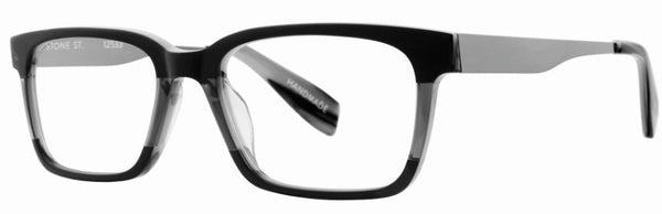 Scojo Stone Street in Black Demin Pleat - ReadingGlassWorld
