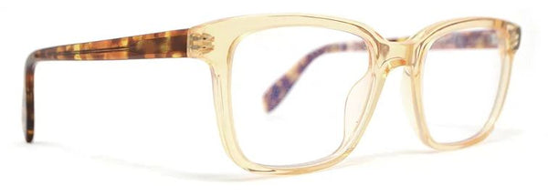 Scojo Gels Blulite Sylvan Place in Clear Amber and Brown Tortoise Temples - ReadingGlassWorld