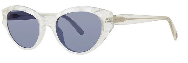 Scojo New York TICKETY-BOO POSH sunglasses in White Frost - ReadingGlassWorld