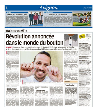 Article de presse La Provence avril 2019