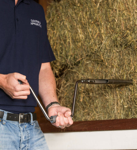 Example of how to take a hay / forage sample