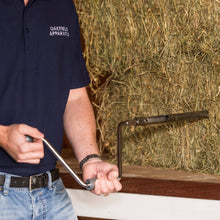 open hay probe kit in use #90