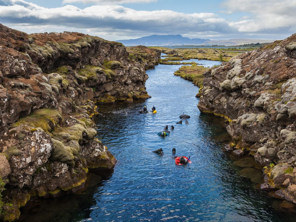 What It's Like to Snorkel Between Two Continents