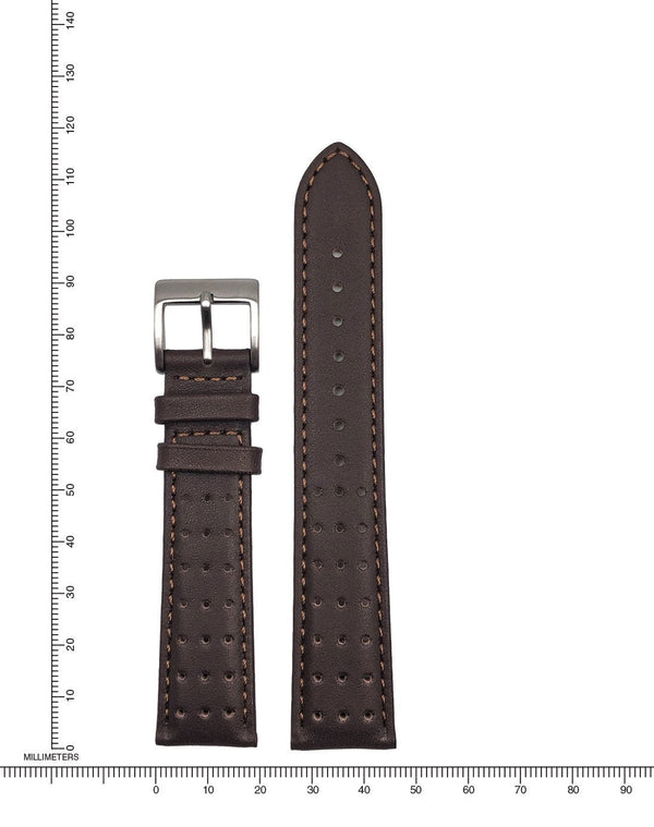 Perforated Leather - 20mm