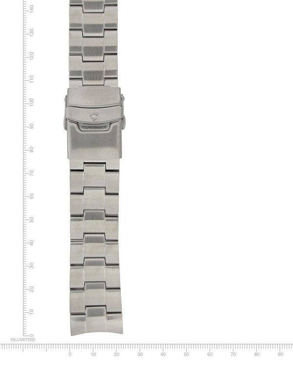 LOGIC & FLATLINE STAINLESS STEEL BRACELET - 22MM