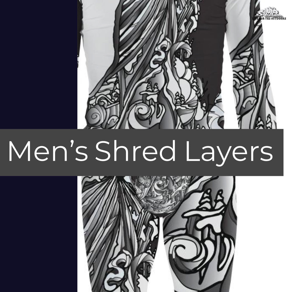 Men Shred Layers