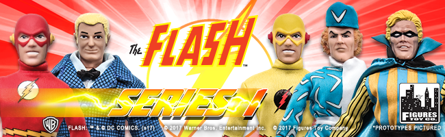 The Flash Retro 8 Inch Series 1